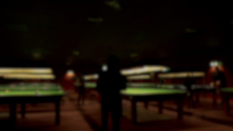 main snooker hall at Salisbury Snooker Club